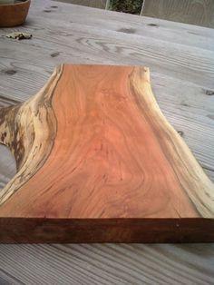 Cherry Natural Edge Cutting Board