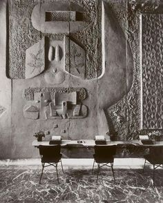 Constantino Nivola Show-room Olivetti, New York 1953-54