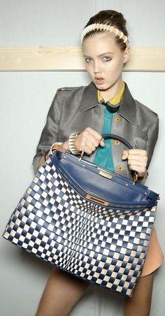 Fendi Handbags Fashion Show Details