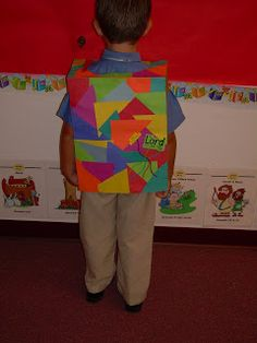 We recently had a LESSON about Joseph and his COLORFUL Coat.  The KIDDOS LOVED this lesson!!!!  They were very excited about the ACTIVIT...