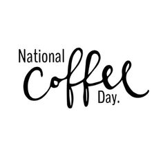 I love that we live in a world where #nationalcoffeeday is a thing!  Hey any excuse to #drinkcoffee and take advantage of some deals on #coffee right?  Who else LOVES coffee?!