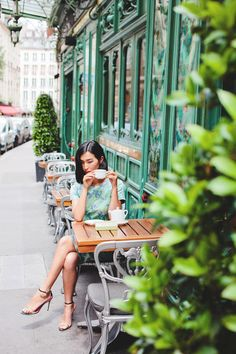 Sidewalk cafe culture and coffee - the love affair never ends. Enjoy the view…