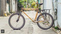 City bike size 60 Bamboo bike handmade from Viet Nam http://voocdesign.com/ https://www.facebook.com/VOOCDesign?fref=ts