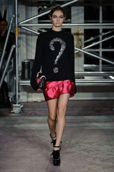 Moschino Cheap & Chic  London Fashion Week