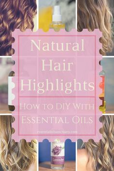 One of the best things about summer is being in the sun and getting some highlights in your hair. Learn recipes and methods to help you add extra shine and color to your highlights with the help of essential oils and hydrosols. Also learn how to protect your hair from being damaged by the sun.