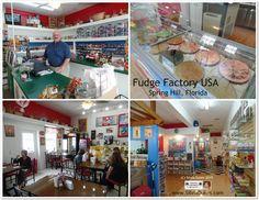 Fudge Factory USA in Spring Hill Florida Fudge Ice Cream and more Photo by Silvia Dukes