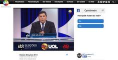SBT Brazil runoff debate Facebook integration