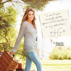 Lauren Conrad released some early photos of her LC Kohl's Winter 2011/12 collection.