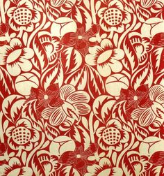 fabric from 1934, designer unknown