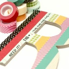 Just ordered my Washi Tape. & my letters are in the mail. Can't wait to do this!