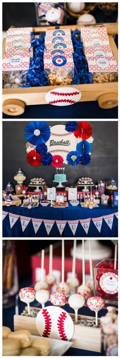 For the Lil' Slugger {Baseball Baby Shower!} love this idea and this blog has a BUNCH more ideas!!