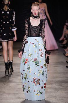 Andrew Gn Spring 2017 Ready-to-Wear Fashion Show - Maryna Polkanova