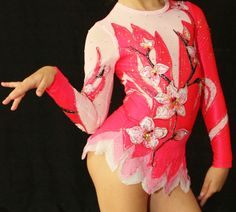 Competition Rhythmic Gymnastics Leotard SOLD by Savalia on Etsy