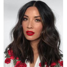 Olivia Munn's Soft, Voluminous Texture Medium Hair Styles, Natural Hair Styles, Short Hair Styles, Hair Inspo, Hair Inspiration, Mi Long, Hair Dos, Pretty Hairstyles, Simple Hairstyles