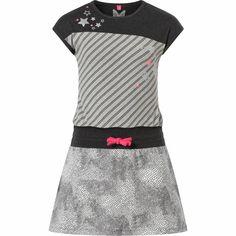 Meisjes jurk Tara Anthracite