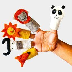 Fancy - Finger Puppet Set by KHIDKI