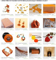 OPEN ♥ RND 191 ♥ the BEST of ETSY BNS by EcoChicSoaps ♥ ORANGE U GLAD ♥     Please join us at:  http://www.etsy.com/treasury/MTI4MzMwMjh8MjU4NzYzNDU5Ng/open-rnd-191-the-best-of-etsy-bns-by