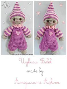 This Pin was discovered by Onl Doll Amigurumi Free Pattern, Crochet Teddy Bear Pattern, Crochet Doll Pattern, Crochet Patterns Amigurumi, Amigurumi Doll, Crochet Dolls, Crochet Monkey, Diy Crafts Crochet, Diy Doll