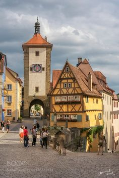 Rothenburg ob der Tauber Germany by michailchristodoulopoulos