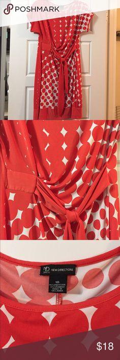 Orange polka dot dress 10 L Orange polka dot dress 10 L Dresses