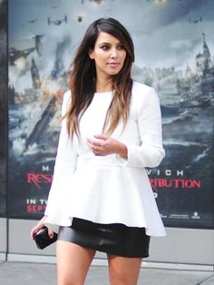 The best hair color for fall: Kim Kardashian http://www.cosmopolitan.com/hairstyles-beauty/hair-care/fall-to-winter-hair-color#slide-14