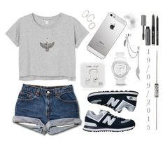 """""""1 9 / 0 9 / 2 0 1 5"""" by apcquintela ❤ liked on Polyvore featuring Monki, Happy Plugs, Forever 21, Alex and Ani, FOSSIL, Bling Jewelry, Bobbi Brown Cosmetics and New Balance"""
