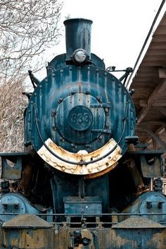 I love this old steam engine