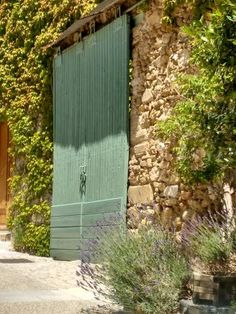 #Lavender #ivy #stonewalls and ancient #doorways in #Provence Discover our exquisite range of French home wares and furniture at chezpluie.com