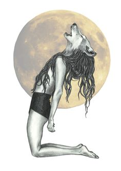Talented Friends & Family She Wolf - Illustration by Kate Philipson