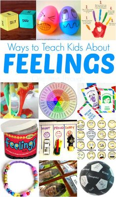 Ways to Teach Kids About Feelings