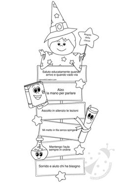 Risultati immagini per regole classe scuola primaria