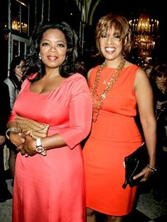 Oprah and Gayle