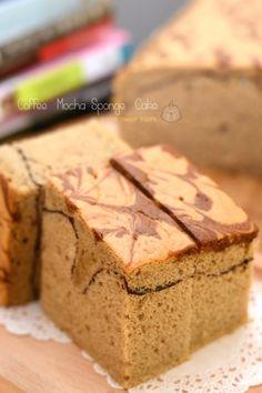 Mocha Coffee Sponge Cake