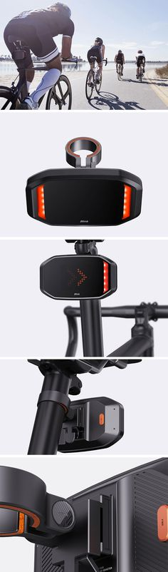 BLINK goes beyond the standard functionality of a bicycle nighttime blinker and actually indicates the rider's intention to turn right or left or even when they're braking. Using bright LED lights and a substantial screen, it brings heightened awareness to surrounding drivers, pedestrians and other cyclists.