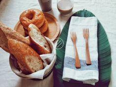 早午餐木盤/麵包盤:22cm(櫸木/拼接)