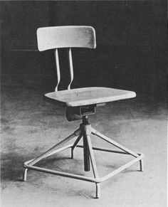 Workshop chair, 1929, Design and execution by students of the Bauhaus metal workshop