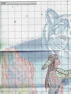 Индианка.Вышивка.. Комментарии : LiveInternet - Российский Сервис Онлайн-Дневников