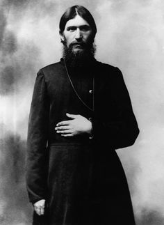 """GRIGORI RASPUTIN (Russian Orthodox Christian, mystic, sometimes referred to as the """"Mad Monk"""", believed to be a psychic and faith healer)"""