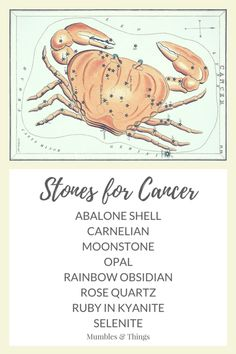 When the sun is in Cancer (from June 21st - July 22nd), the energies of Cancer are at work. Here is a list of 11 crystals that work to enhance the strengths and help you overcome the challenges of the Cancer energy. If your sun sign is not Cancer, these stones are still useful. The zodiac energy of each sign surrounds all of us based on the time of the year.