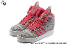 Sale Cheap Girl Adidas M Attitude Big Tongue Monogram Shoes Red Newest Now