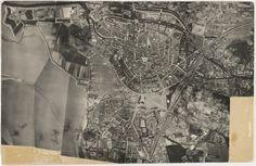 Luchtfoto Bergen op Zoom 1930