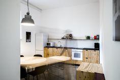 Home - Quartier Studio Linz Studio, Plywood, Designer, Kitchen, Table, Furniture, Home Decor, Linz, House