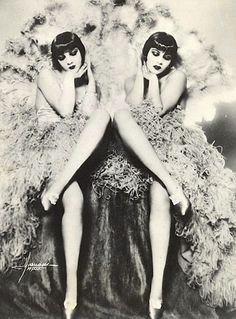 The Dolly Sisters, Vaudeville Performers #tennesseerep #chicago #musical