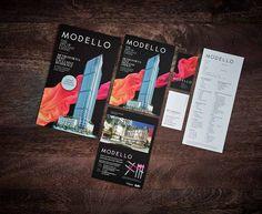 Modello by Boffo Developments #graphicdesign #design #typography #realestate #print #printdesign #advertisement