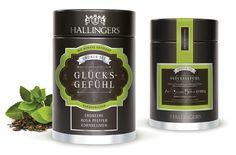 Hallingers Tea / Packaging Design #packagingdesign #tea #label #labeldesign #productrange #packagingdesign