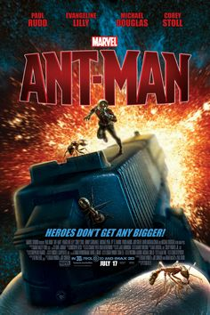 YEP...A MUST SEE ANT-MAN wow the stuff they can do with special effects today...they're so good they fade into the background and allow the story to take center stage...really liked this one...almost as good as the original Iron Man...