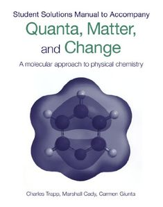 Physical Chemistry: Quanta Matter And Change PDF