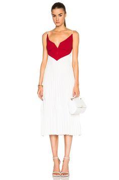 Valentina Pleat Dress