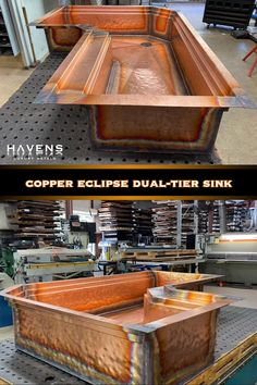 The most advanced and easy to clean copper sinks in the World! American made since select from hammered copper and farmhouse style kitchen sinks with a lifetime warranty. Copper Farmhouse Sinks, Farmhouse Style Kitchen, Copper Sinks, Custom Kitchens, Home Kitchens, Kitchen Design, Kitchen Decor, Kitchen Sinks, Mission Style Homes