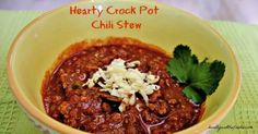 Chili looks good.  Will give this a try.